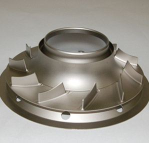 CNC Machined Greek Ascoloy Exhaust Deflector for the Power Generation Industry